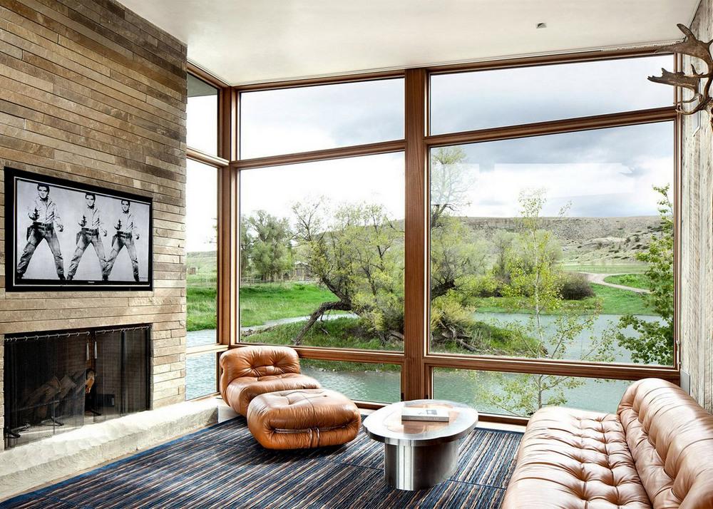 Частный дом в штате Монтана
