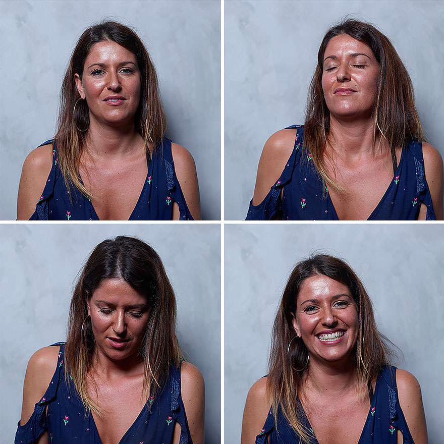 Маркос Альберти снял женщин до, во время и после оргазма