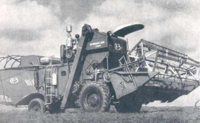 Советские зерноуборочные комбайны