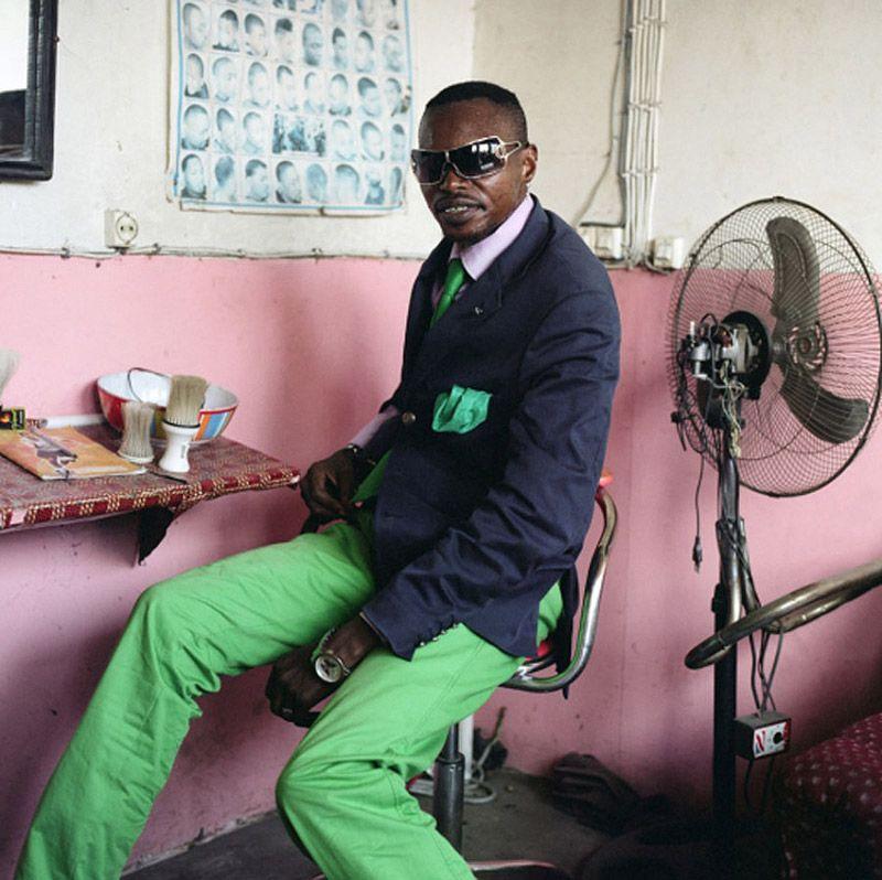 Фоторепортаж о стилягах из Конго