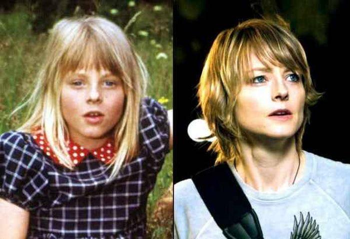Актеры Голливуда в детстве и сейчас