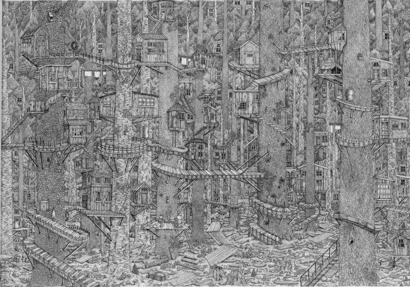 Карандашные рисунки с невероятной детализацией