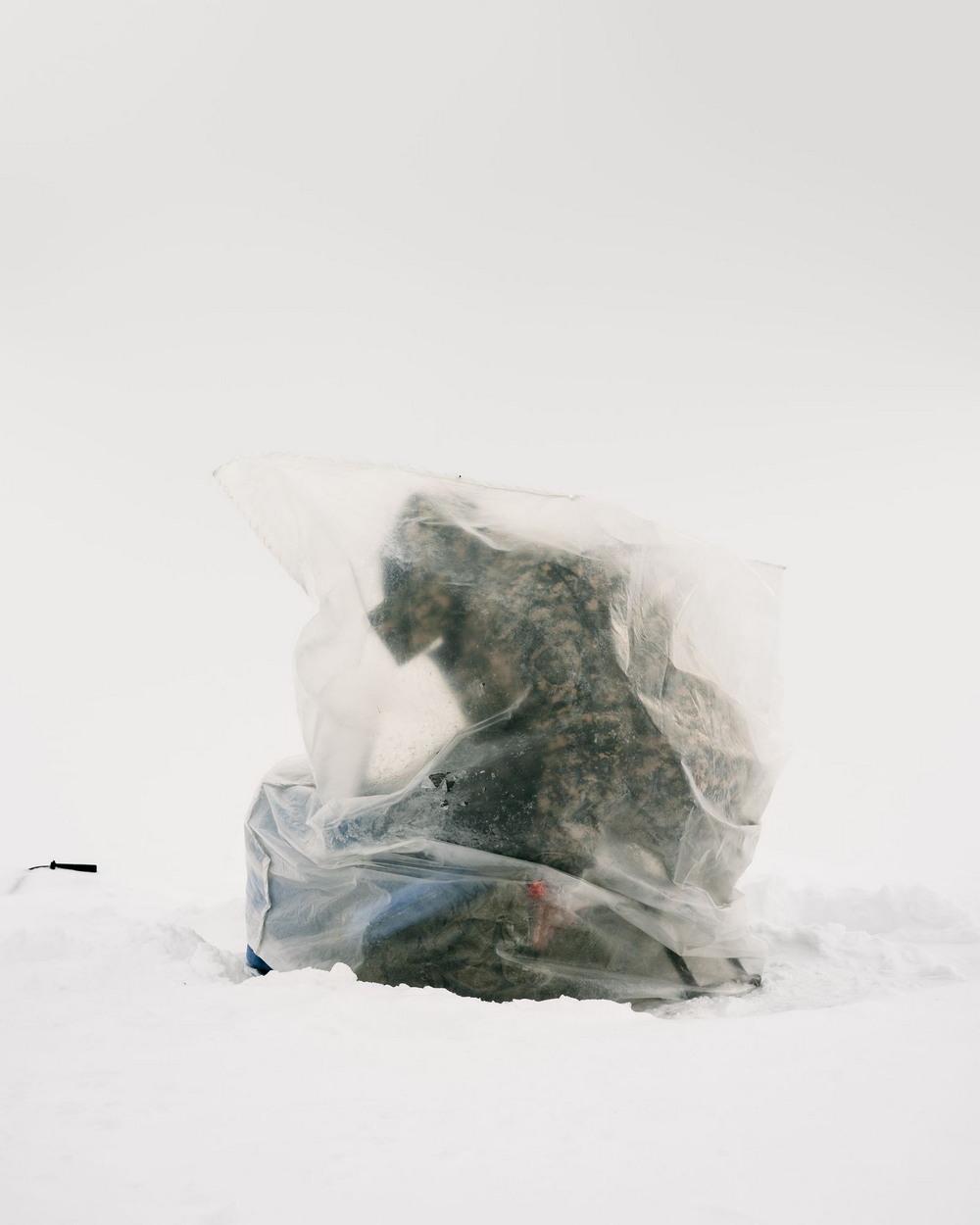 Казахи на зимней рыбалке