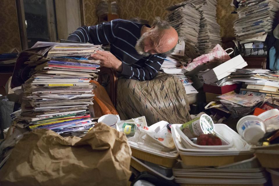 Жизнь француза с синдромом Диогена