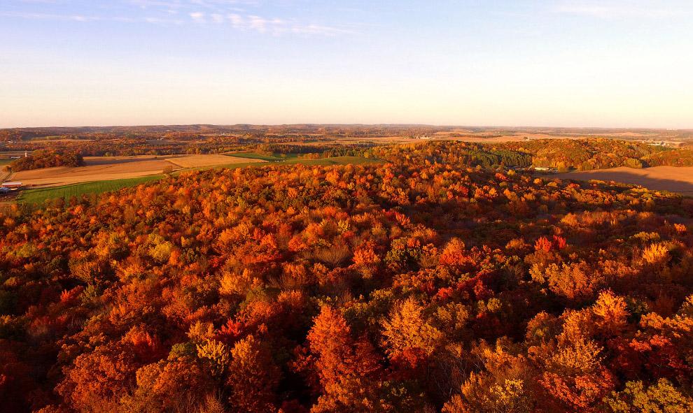 Красивые пейзажи уходящей осени 2017
