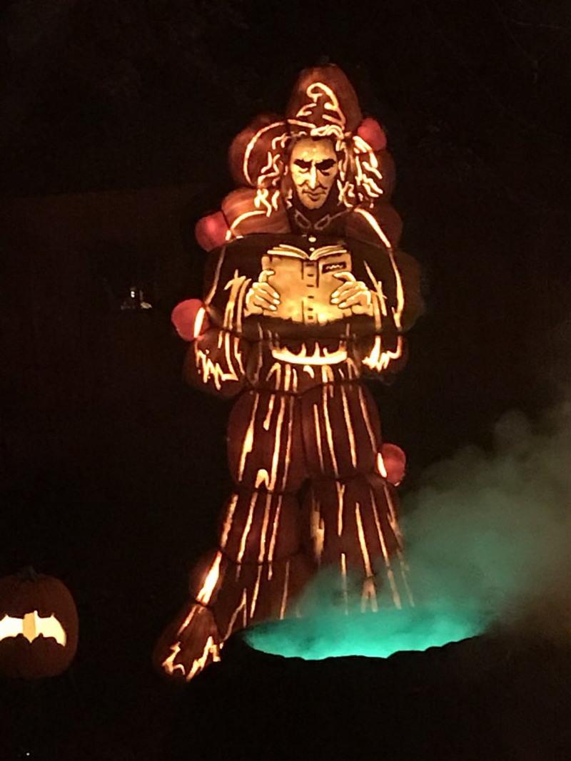 Удивительные скульптуры из тыкв