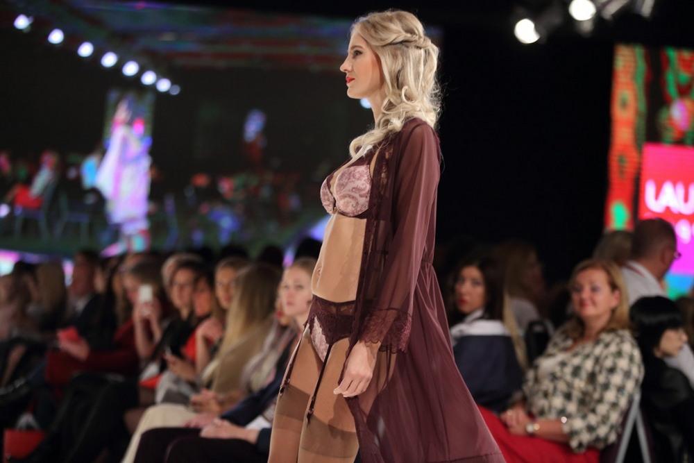 Показ нижнего белья от латвийских брендов