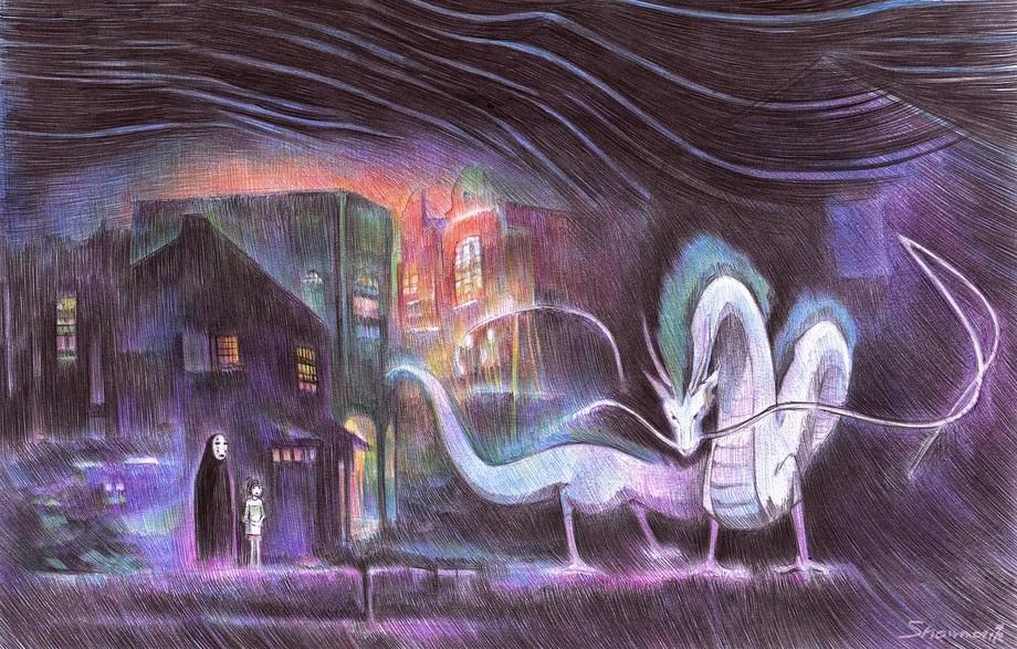 Завораживающие рисунки шариковой ручкой от Марите Десайне