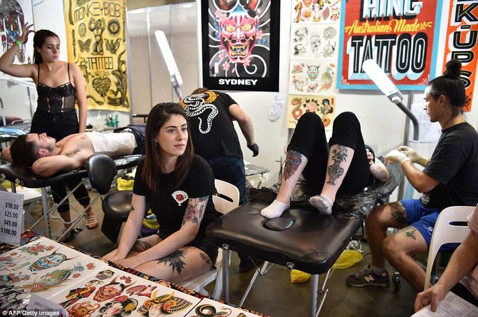 Фестиваль татуировки прошел в Сиднее