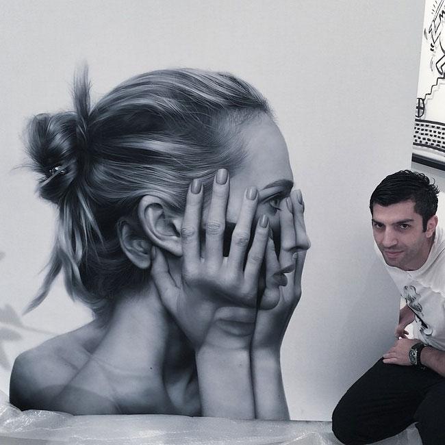 Гиперреалистичные портреты от Тиграна Тситогзяна