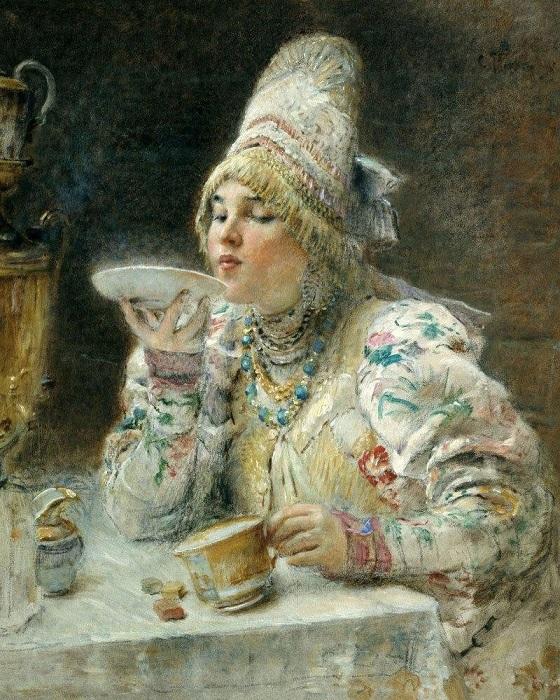 История путешествия чая по миру