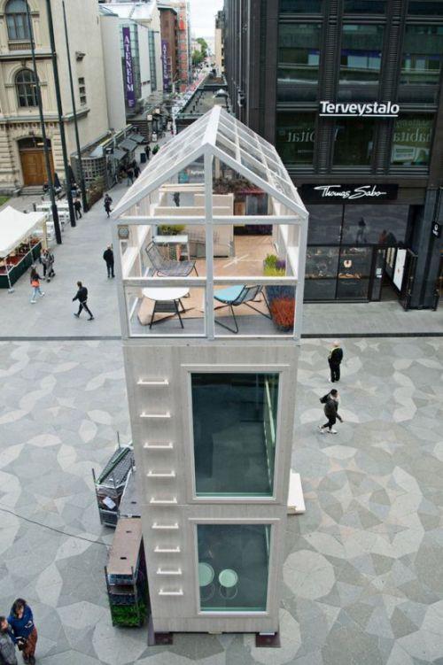 Компактный домик архитектурной студии Casagrande Laboratory