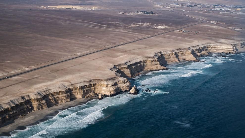 Пейзажи пустыни Атакама в Чили