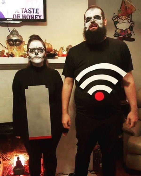 Оригинальные костюмы на Хэллоуин
