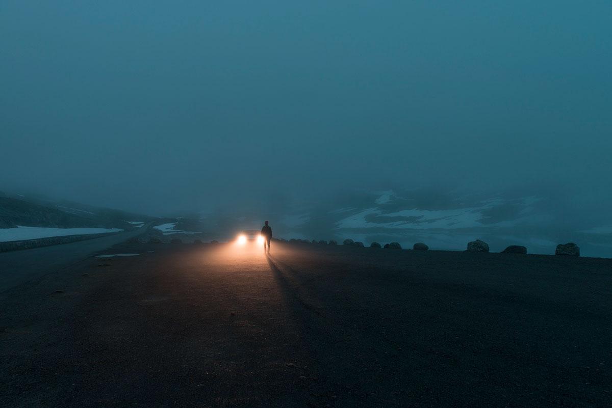 Зимняя спячка на атмосферных снимках Oystein Aspelund