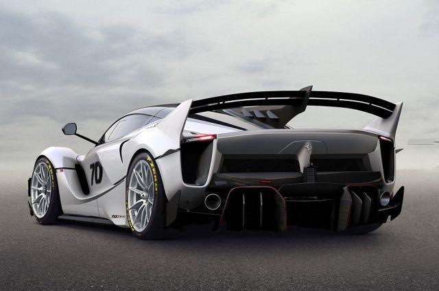 Гиперкар Ferrari FXX K Evoluzione