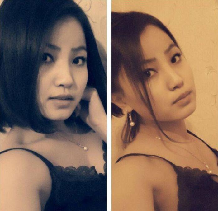 Красивые монгольские девушки