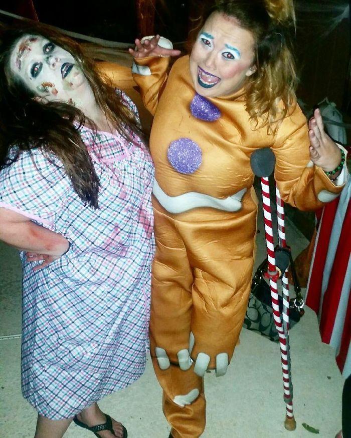 Крутые костюмы на Хэллоуин от людей с ограниченными возможностями
