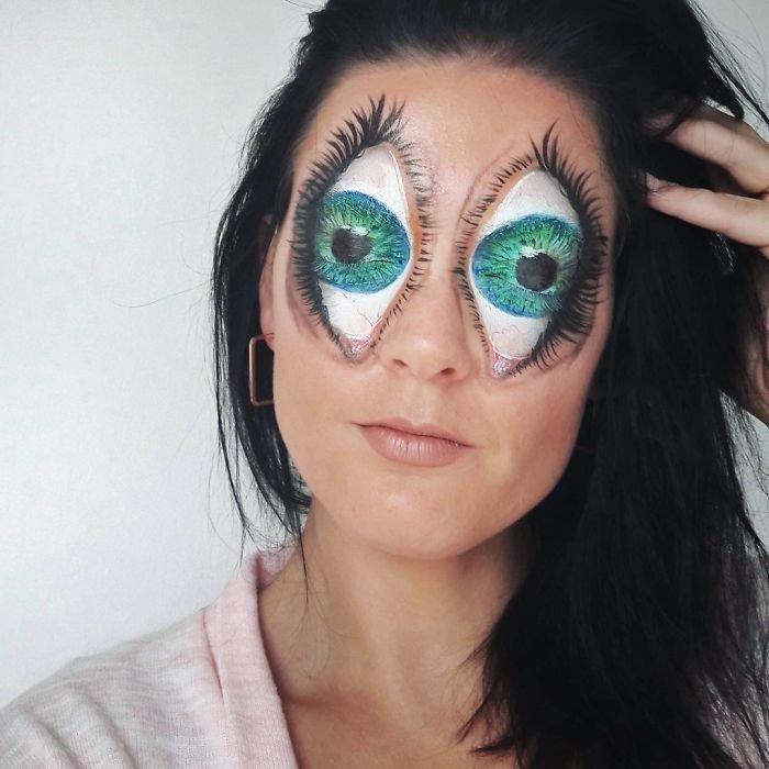 Образы монстров от девушки-визажиста Саманты Стейнс