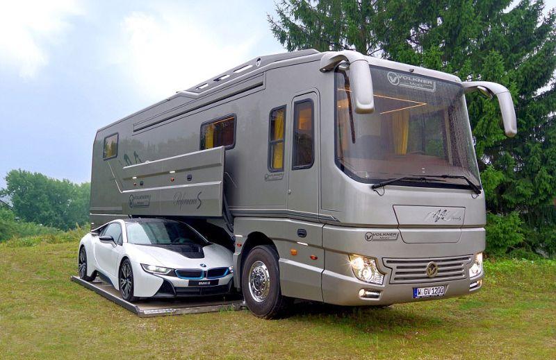 Потрясающий дом на колесах Volkner Mobil Performance S