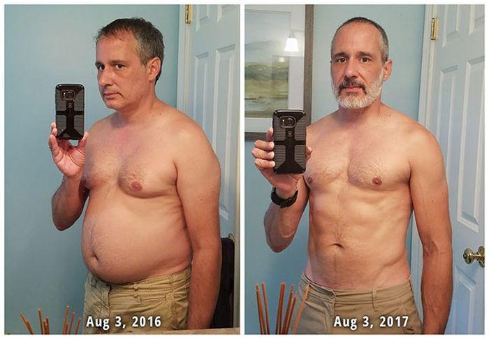 Преображение людей, страдавших от лишнего веса