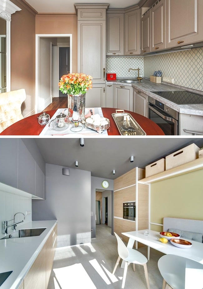 10 способов обустроить маленькую кухню