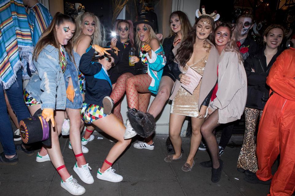 Как прошел Хэллоуин-2017 в Великобритании