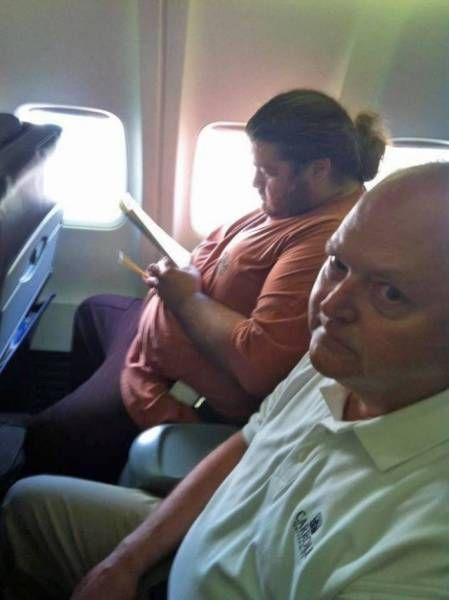 Неадекватные попутчики из самолетов