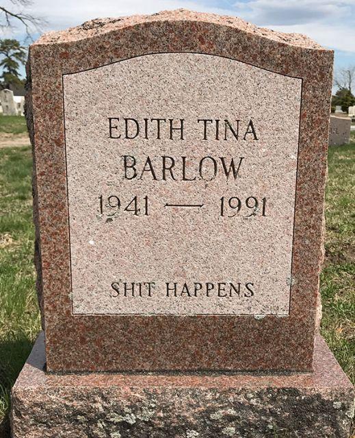 Забавные слова с надгробных плит