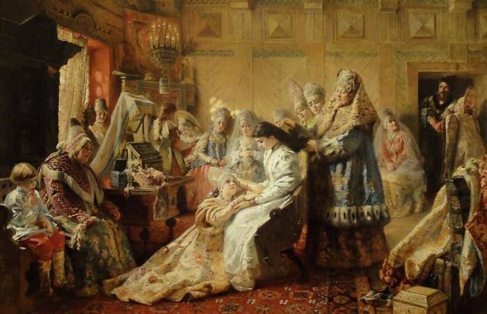 Приданое невесты в старину