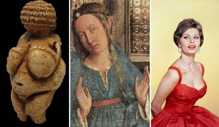 Мода на женскую грудь от палеолита до наших дней