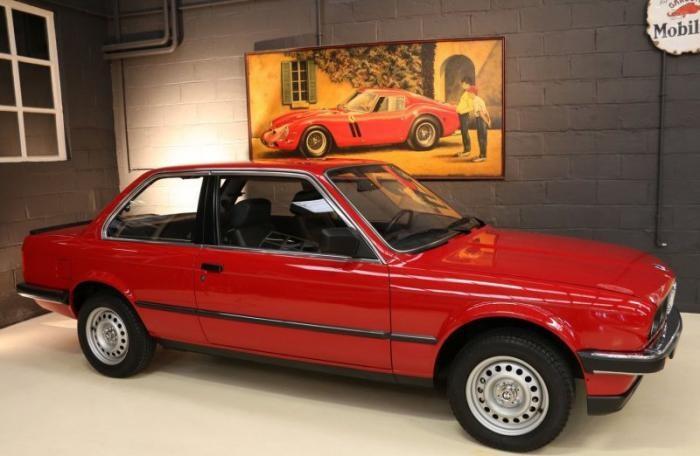 В Бельгии продают новую BMW 1985 года