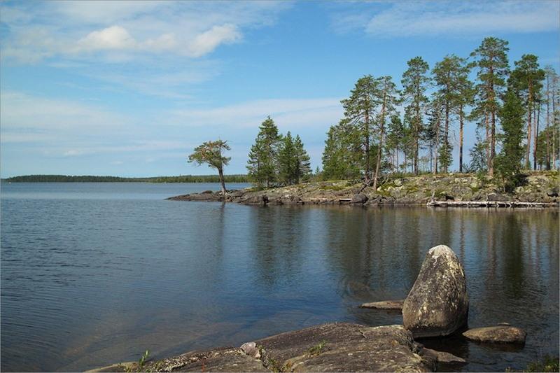 Самые большие озёра России