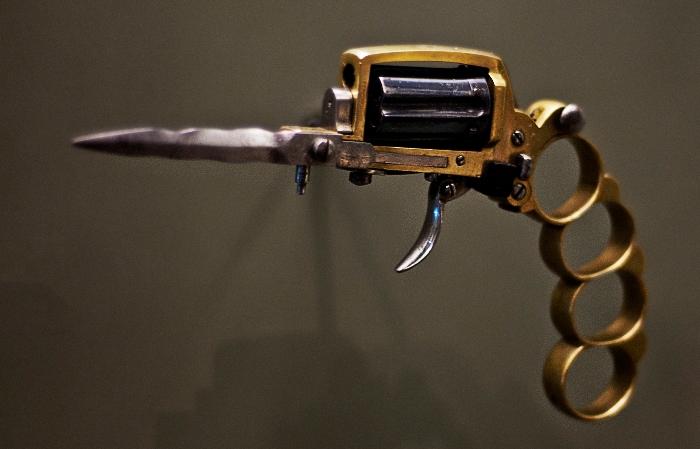 Неординарные виды оружия прошлого