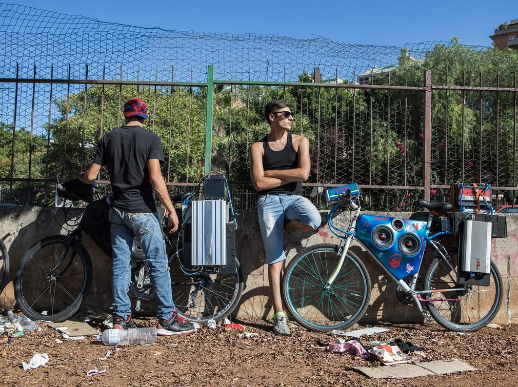 Тюнингованные велосипеды подростков Палермо