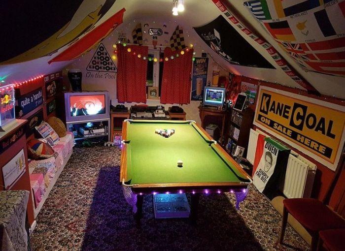 Холостяцкие комнаты, о которых мечтает каждый мужчина