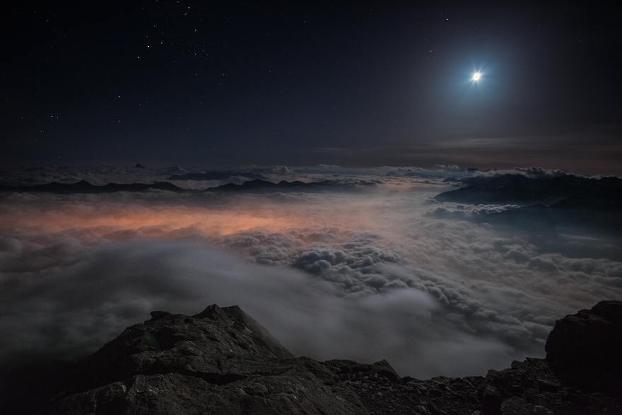Мир над облаками от Роберто Бертеро