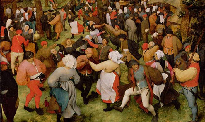 Пляска святого Вита - танцевальная лихорадка в Средневековье