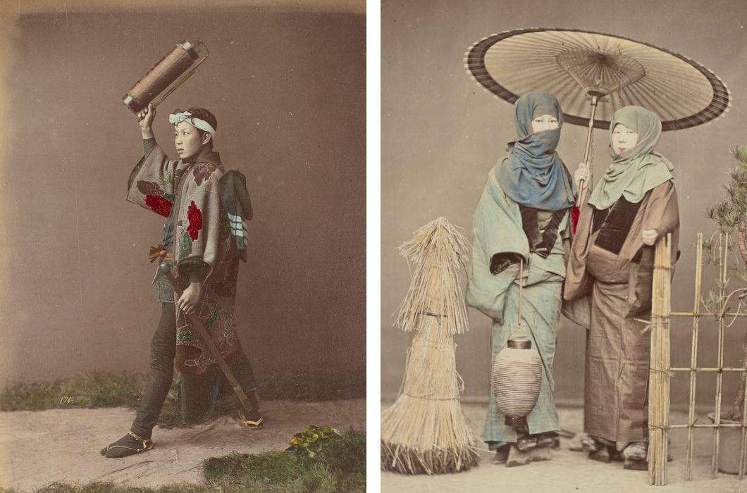 Япония на цветных снимках XIX века