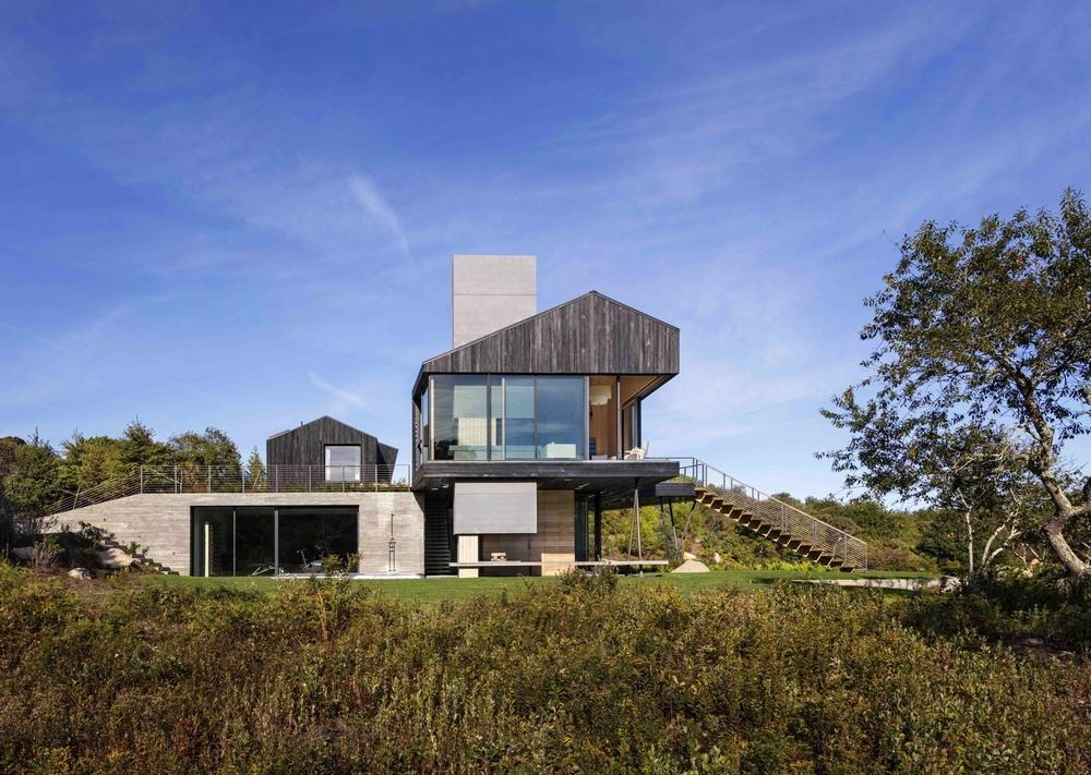 Современный дом на острове Мартас-Винъярд