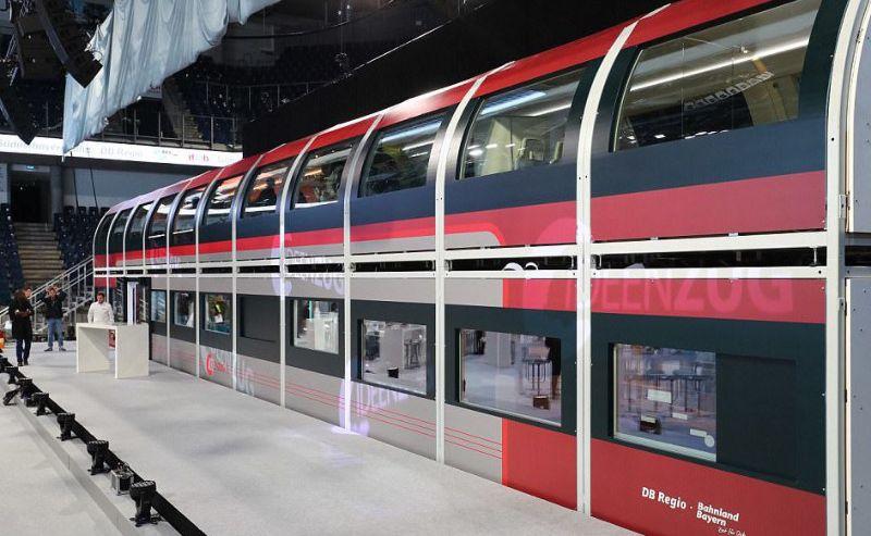 Немецкий поезд будущего повышенного комфорта