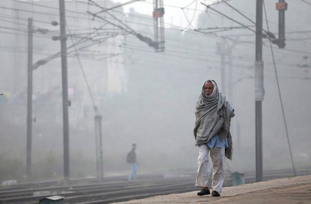 Нью-Дели накрыл ядовитый смог