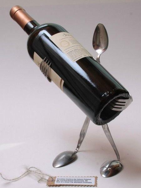 Креативные вещи из столовых приборов