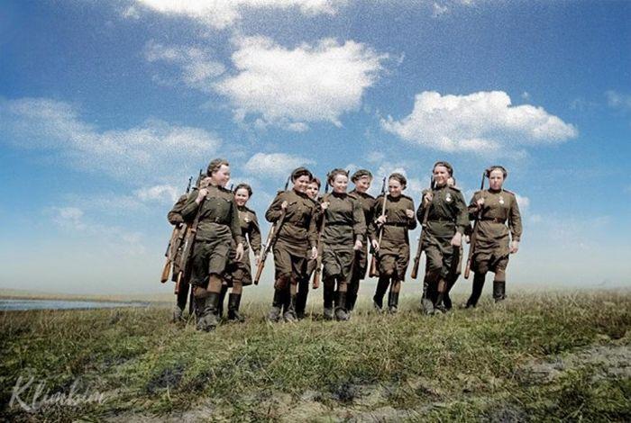 Колоризированные исторические фото от Ольги Ширниной