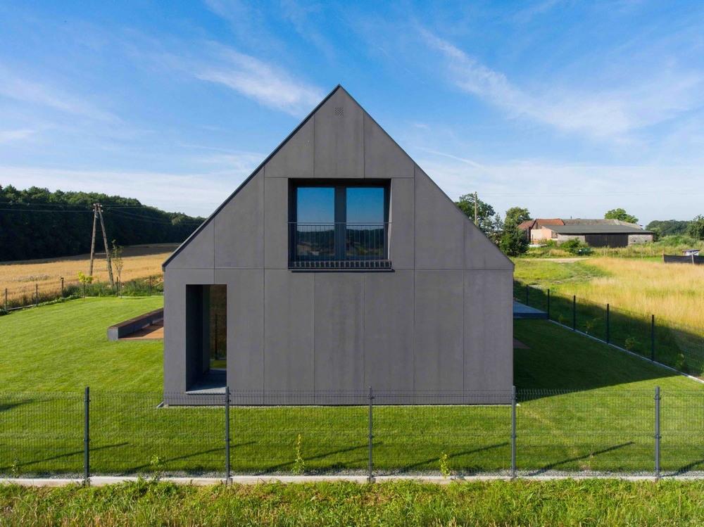 Современный дом в Польше