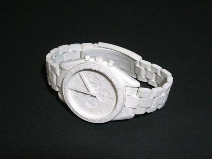 Идеальные копии наручных часов из бумаги