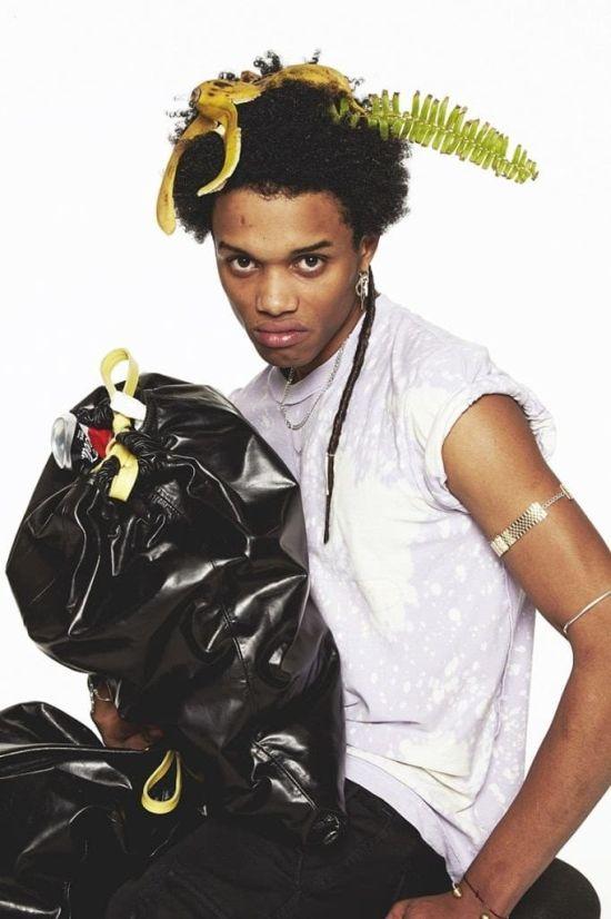 Стильные кожаные сумки в виде мусорного пакета