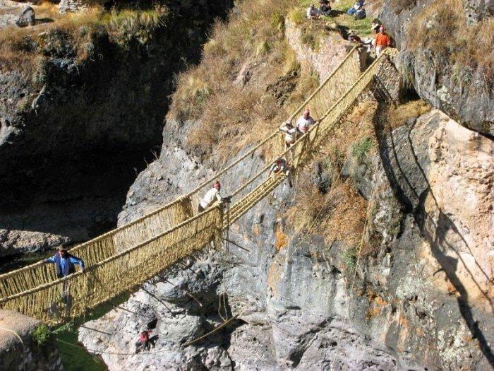Кешва Чака – последний мост инков