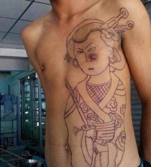 Татуировки, которые можно было и не делать