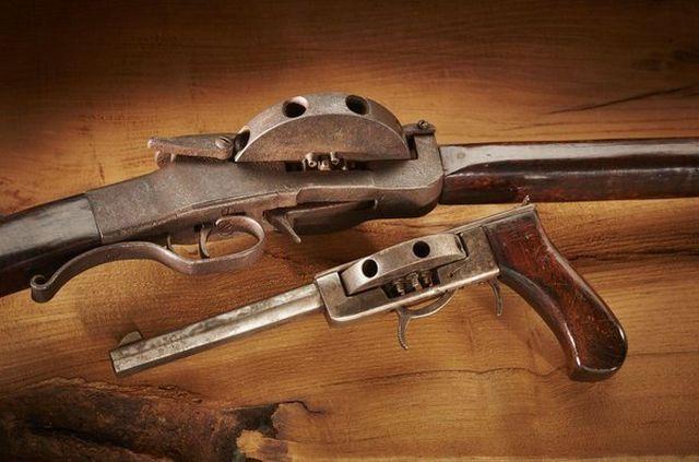 Уникальные револьверы и винтовки Джона Кохрэйна